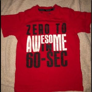 Zero to Awesome in 60 seconds Boys Shirt S 4.